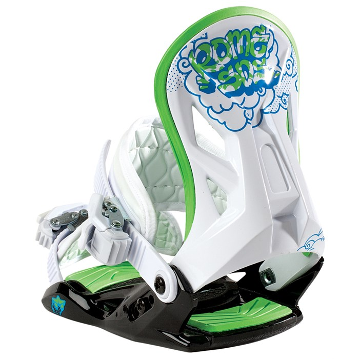Rome - MiniShred Snowboard Bindings - Youth 2013