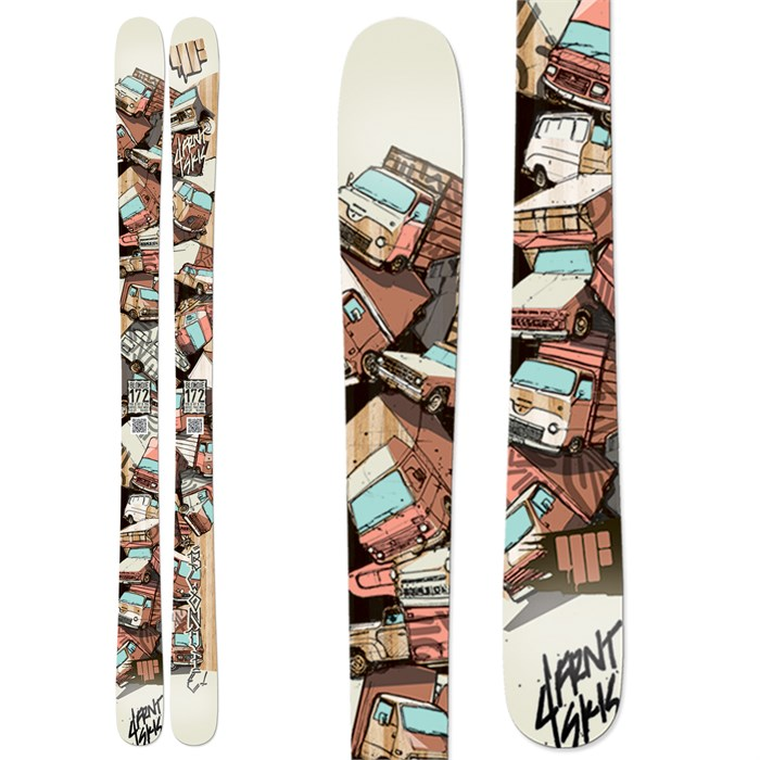 4FRNT - Blondie Skis - Women's 2013