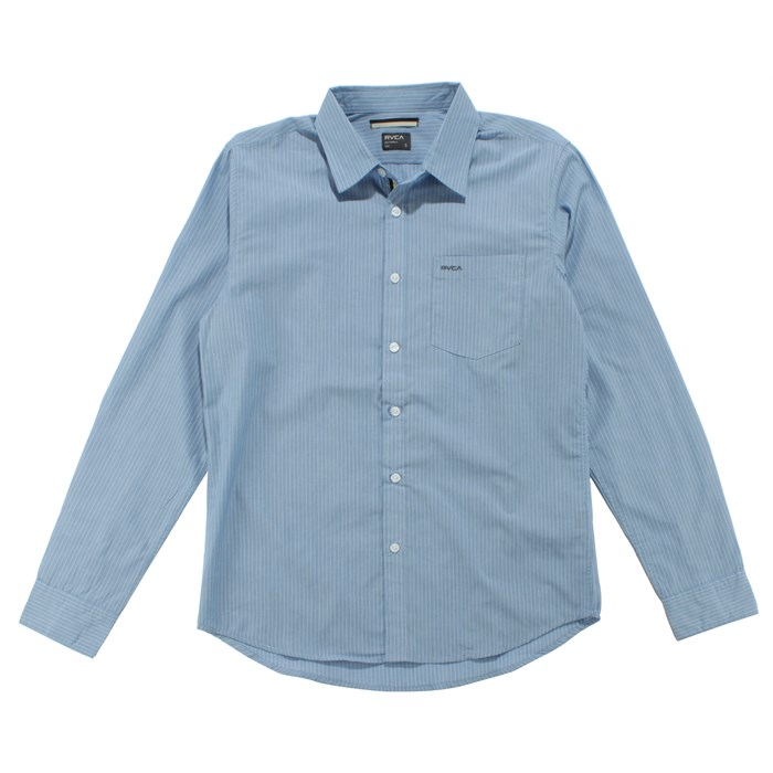 RVCA - Steamer Long Sleeve Button Down Shirt