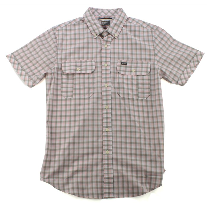 RVCA - Glory Short Sleeve Button Down Shirt