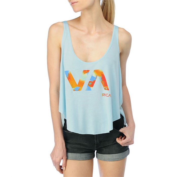 RVCA - Blurred Watercolor Tank Top - Women's