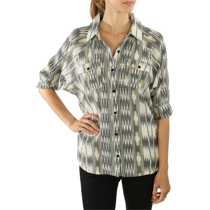 RVCA - Broken Arrow Button Down Shirt - Women's