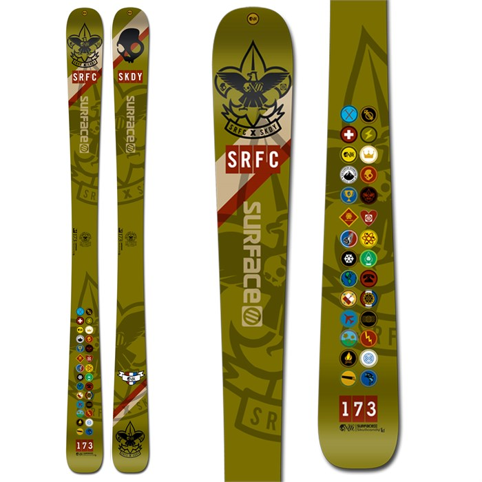 Surface - Skullcandy One Time Skis 2013