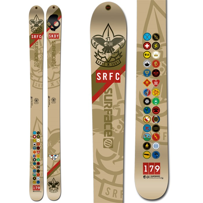 Surface - Skullcandy One Life Skis 2013
