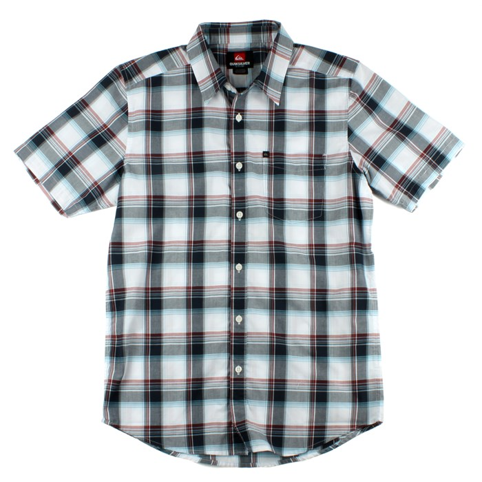Quiksilver - Jesus Iguana Short Sleeve Button Down Shirt