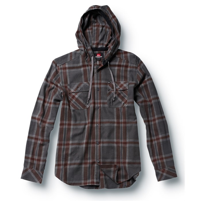 Quiksilver - Grommet Hooded Button Down Shirt
