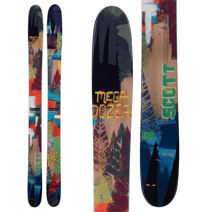 Scott - Mega Dozer Skis 2013