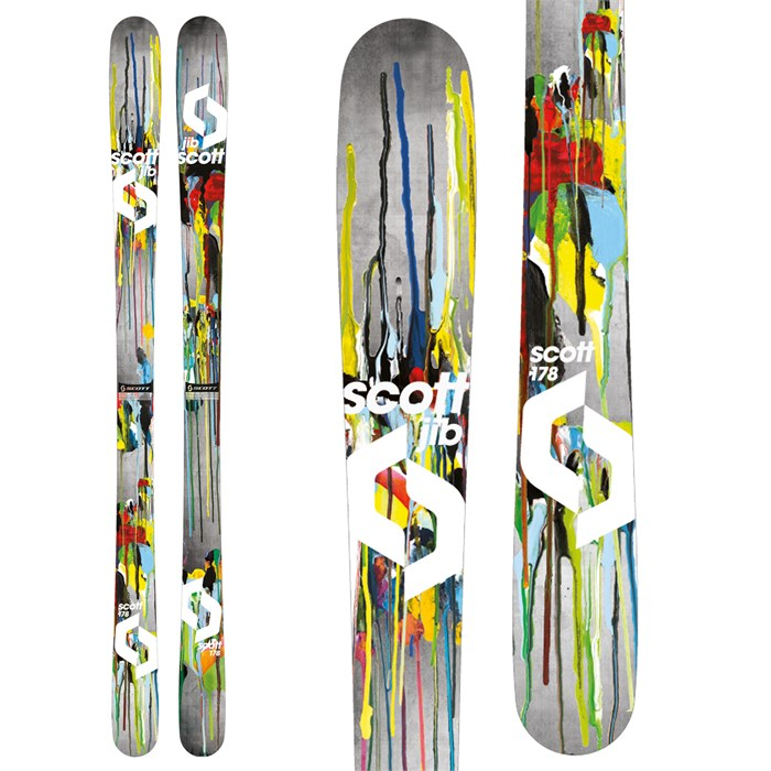 Scott - Jib Skis 2014