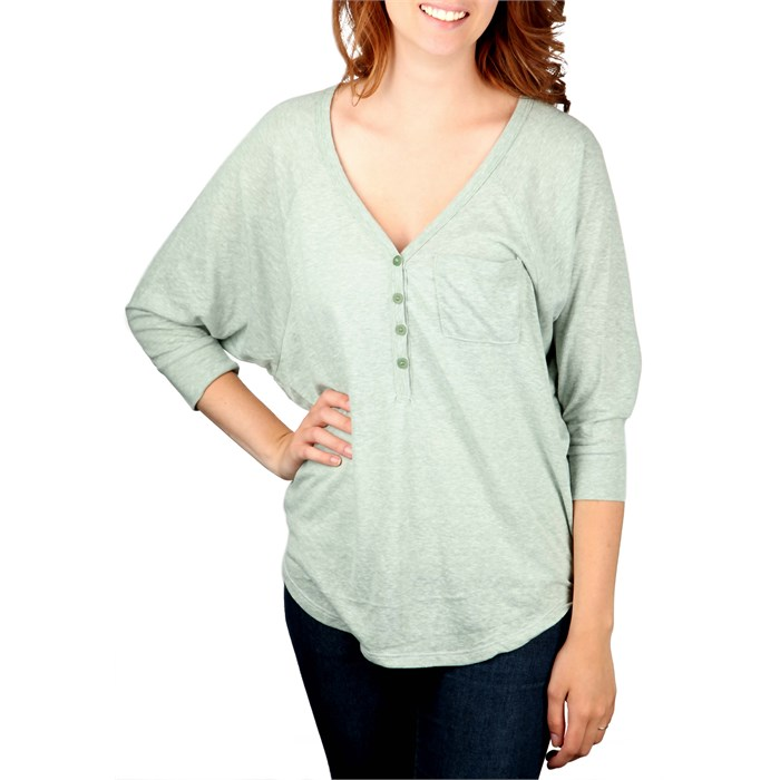 Billabong - Billabong On Radar Henley Top - Women's