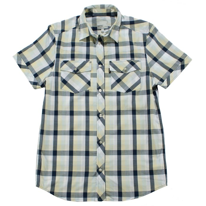 Wesc - Putte Short Sleeve Button Down Shirt