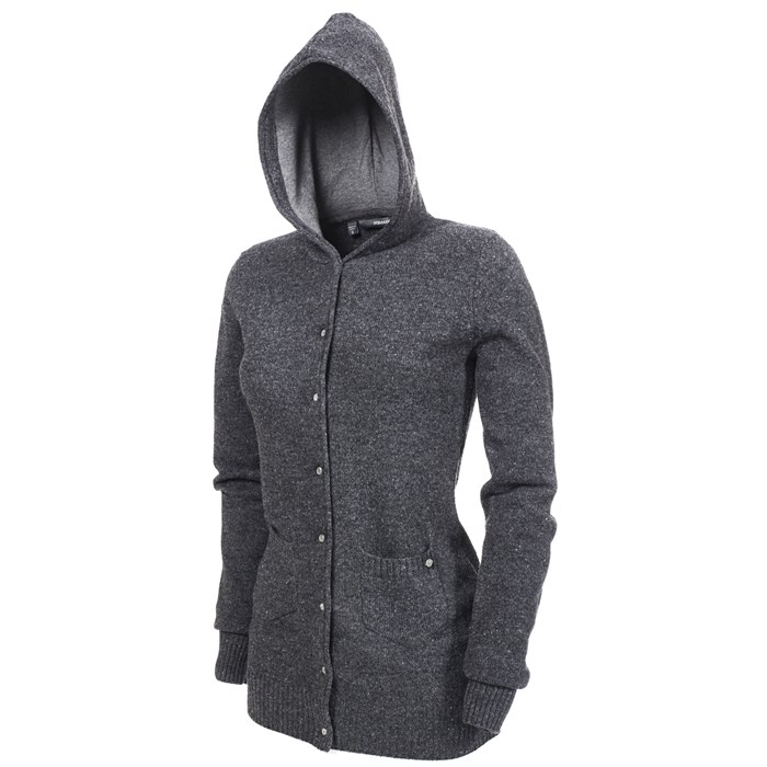 Makia - Hooded Button Down Sweater - Women's