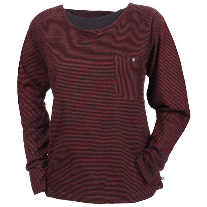Makia - Long Sleeve Pocket T Shirt - Women's
