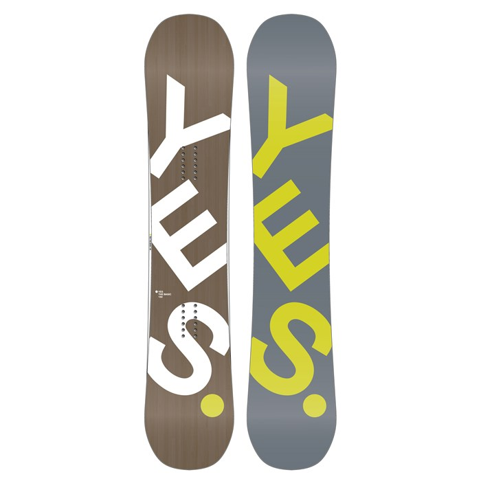 Yes. - The Basic Snowboard 2013