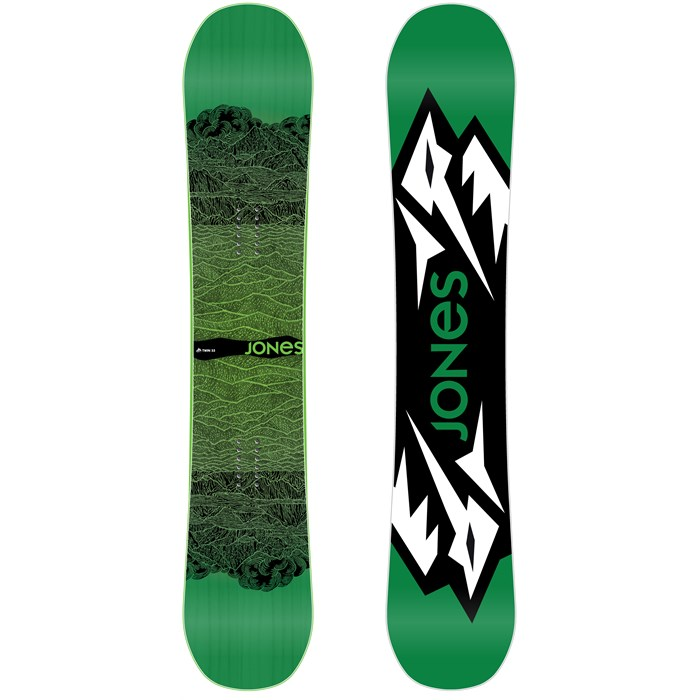 Jones - Mountain Twin Wide Snowboard 2013