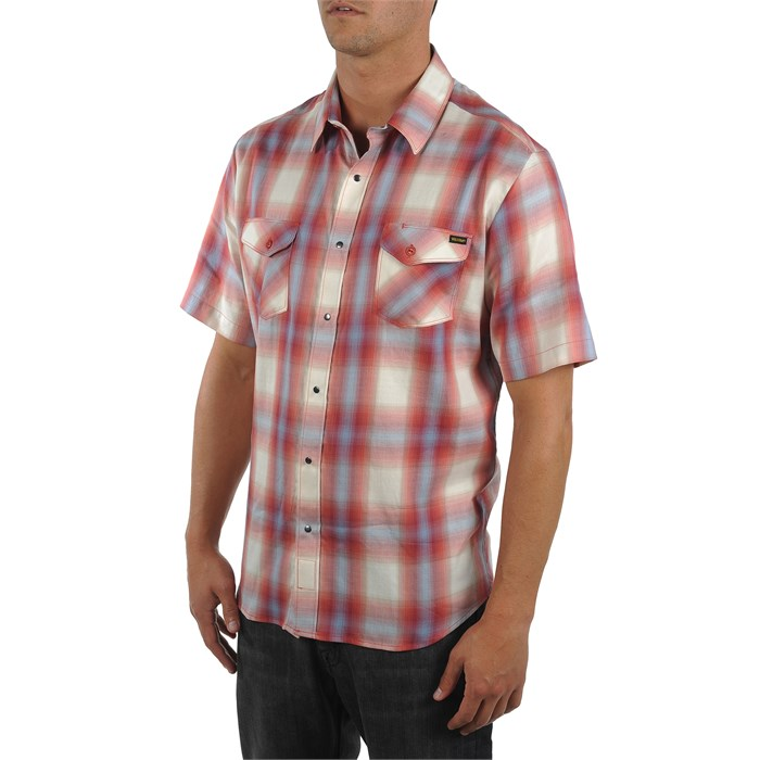 Volcom - Fazed Out Short Sleeve Button Down Shirt