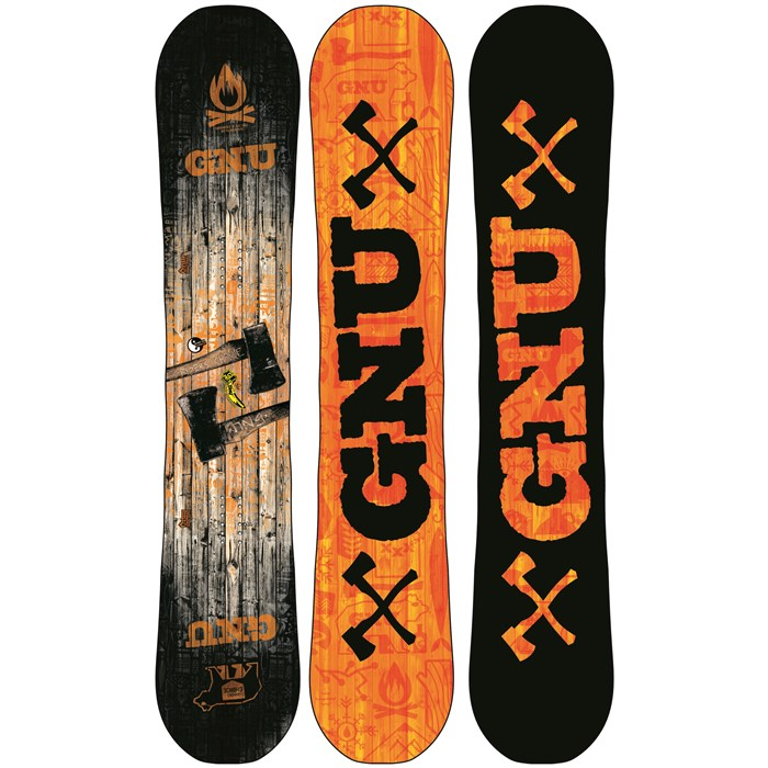 GNU - Riders Choice C2PBTX Wide Snowboard 2013