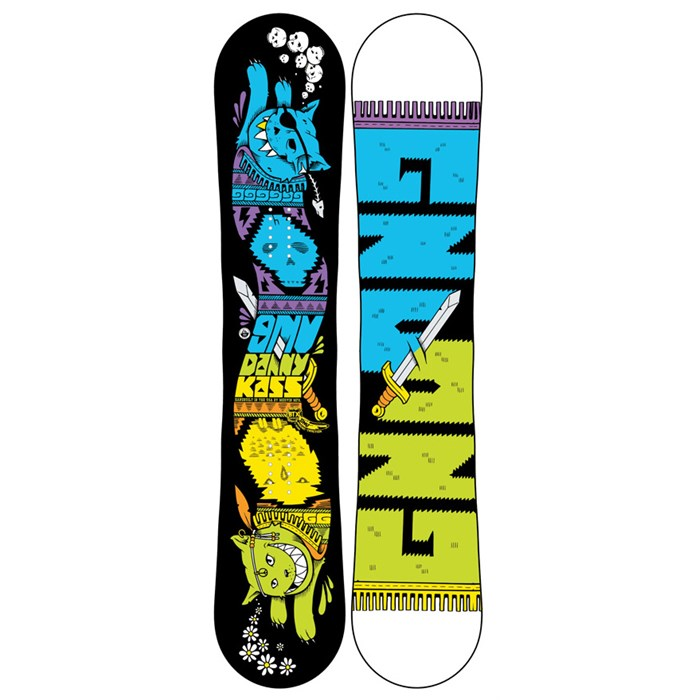 GNU - GNU Danny Kass Mini BTX Snowboard - Youth 2013