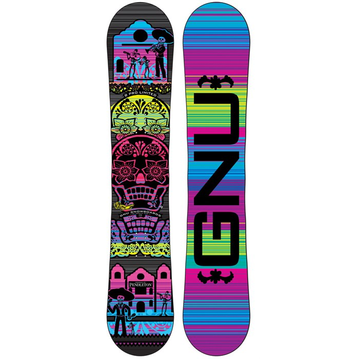 GNU - Pendleton B-Pro C2BTX Snowboard - Women's 2013