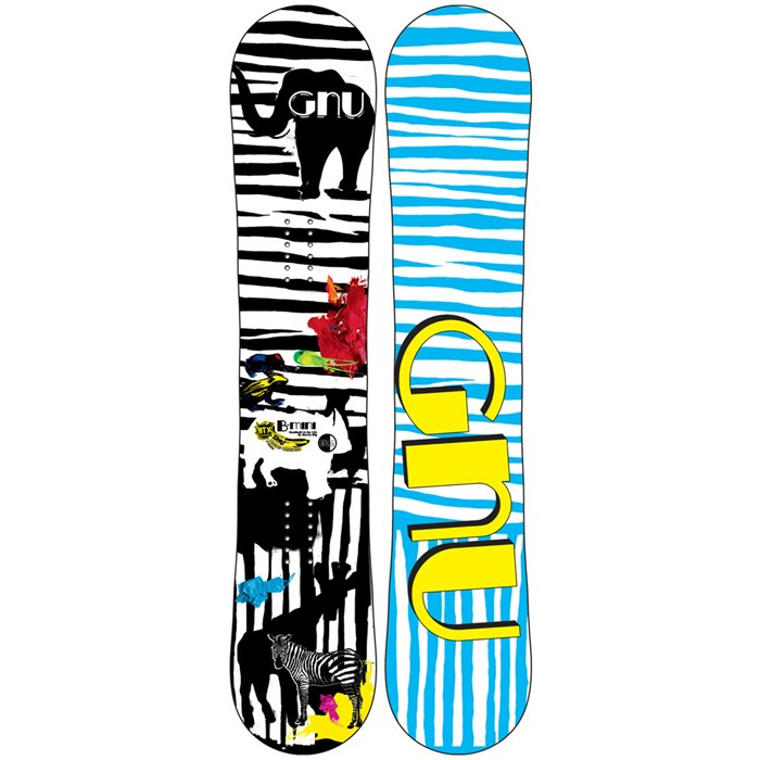 GNU - B-Mini BTX Snowboard - Youth - Girl's 2013