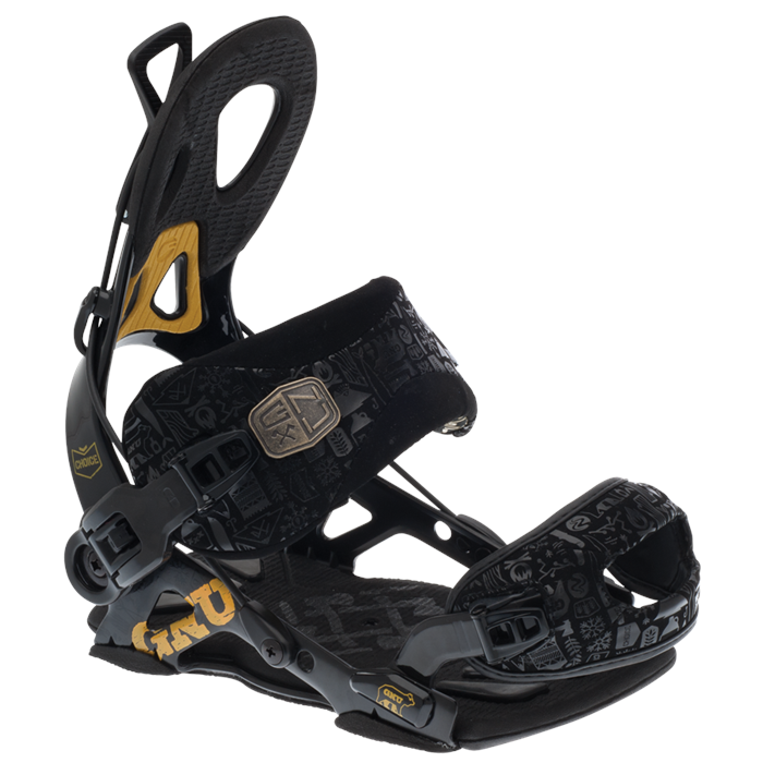 GNU - Choice Snowboard Bindings 2013