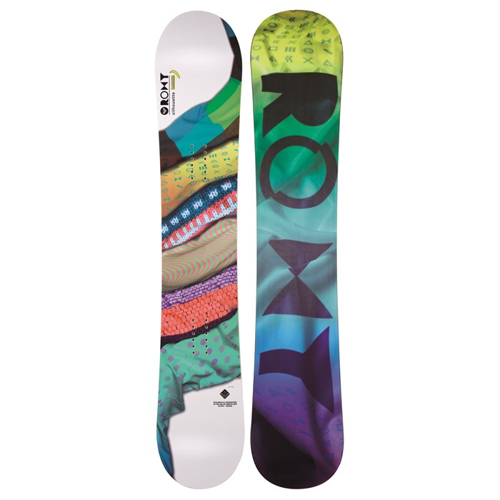 Roxy - Silhouette Banana Snowboard - Women's 2013