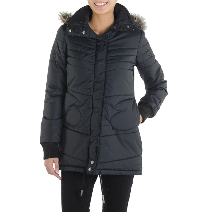 Volcom - Hot Mitts Long Puffer Jacket - Women's