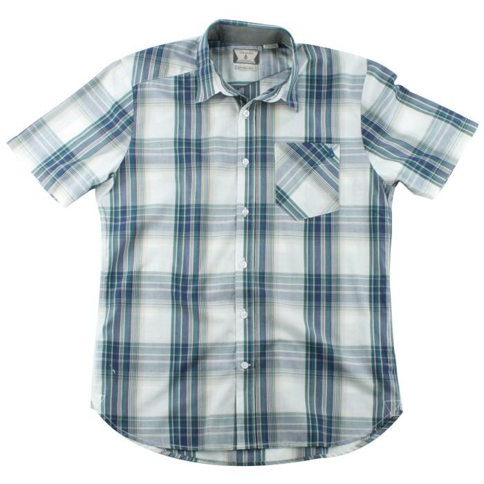 Volcom - Ex Factor Plaid Short Sleeve Button Down Shirt