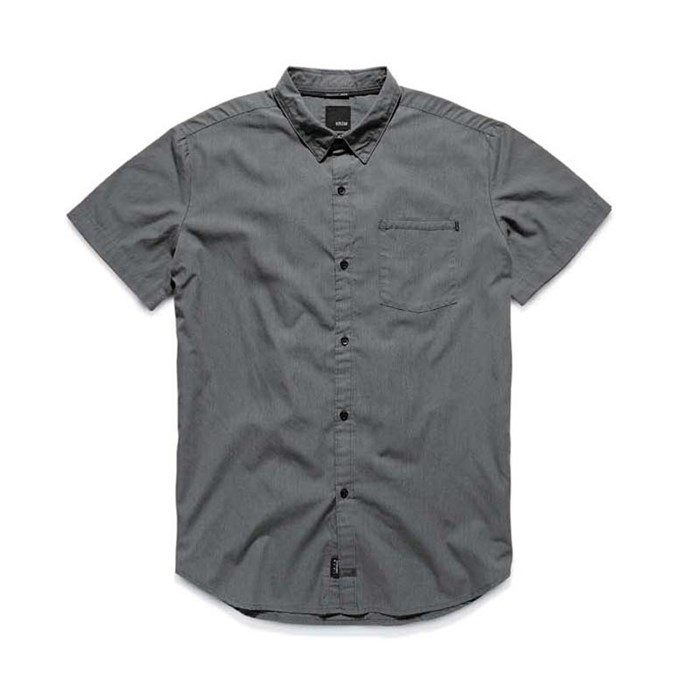 Kr3w - Panic Short Sleeve Button Down Shirt