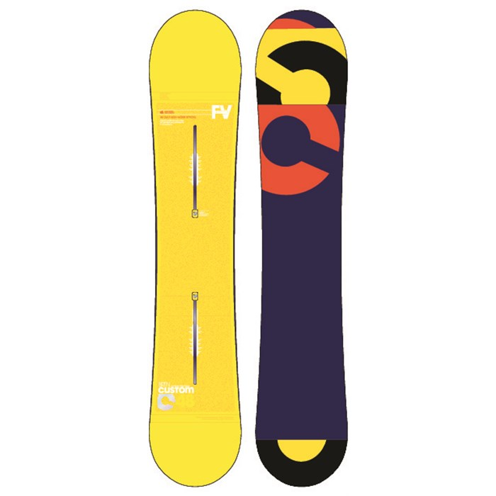 Burton - Custom Flying V Snowboard 2013