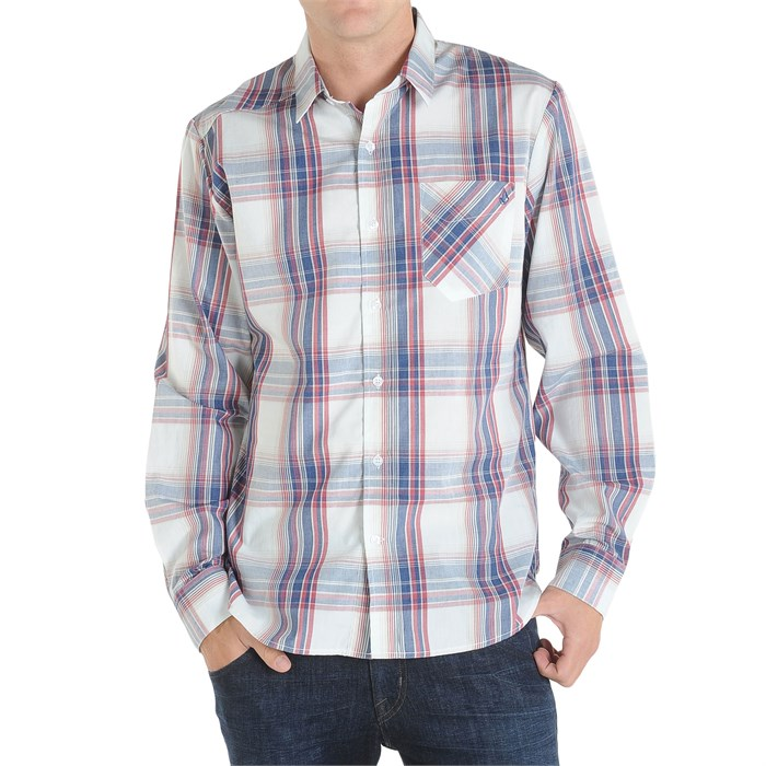 Volcom - Ex Factor Plaid Long Sleeve Button Down Shirt