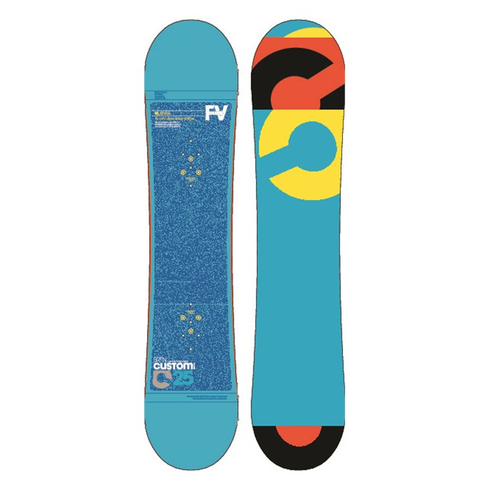 Burton - Custom Smalls Snowboard - Youth 2013