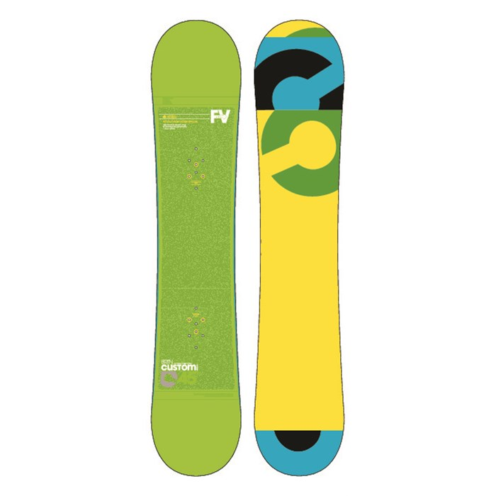 Burton - Custom Smalls Wide Snowboard - Youth 2013