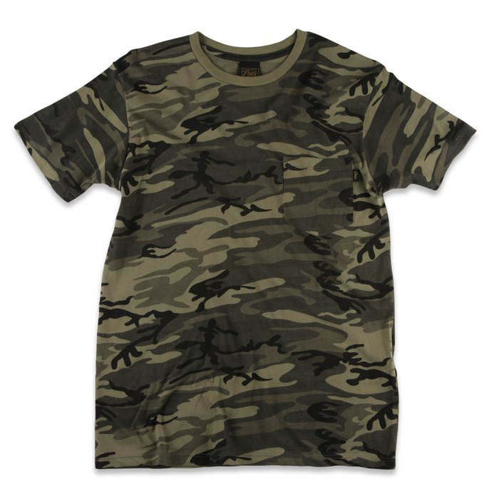 Obey Clothing - Camo Pocket T Shirt