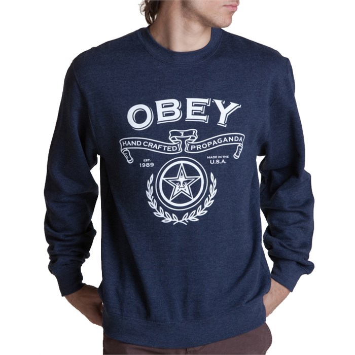 Obey Clothing - Handcrafted Crew Sweatshirt