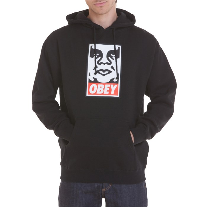 Obey Clothing - OG Face Pullover Hoodie