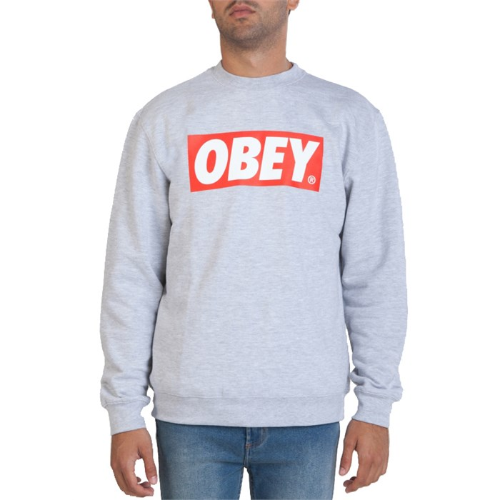 Obey Clothing - The Box Crew Sweatshirt