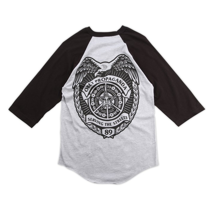 Obey Clothing - Serving the Streets Raglan Shirt