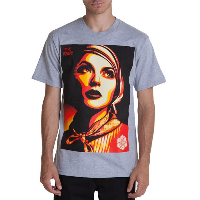 Obey Clothing - Rise Above Rebel T Shirt
