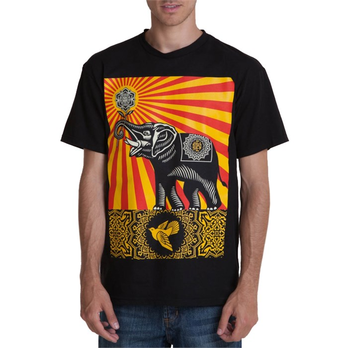 Obey Clothing - Peace Elephant T Shirt