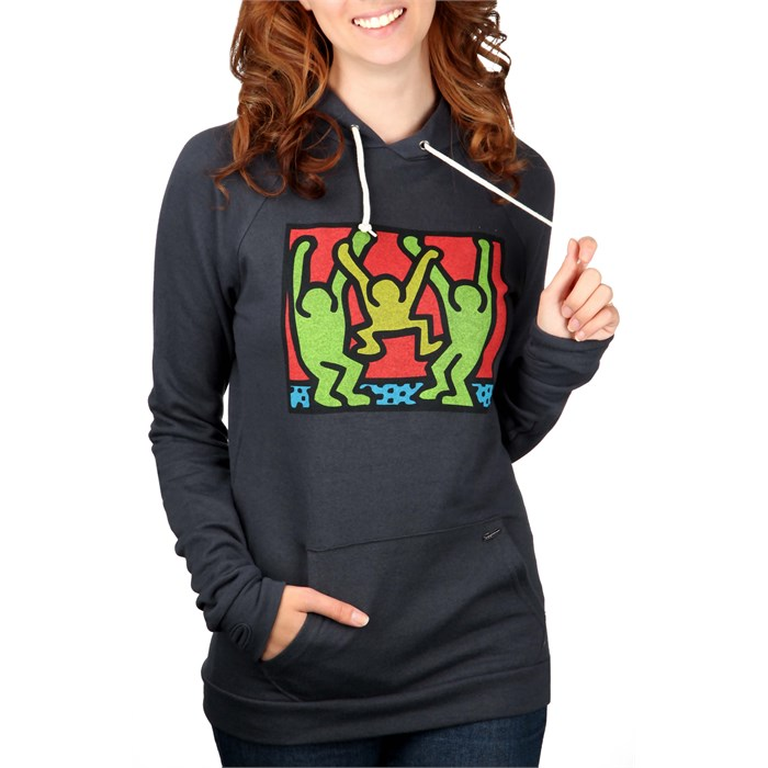 Obey Clothing - Haring Friends Pullover Hoodie - Women's