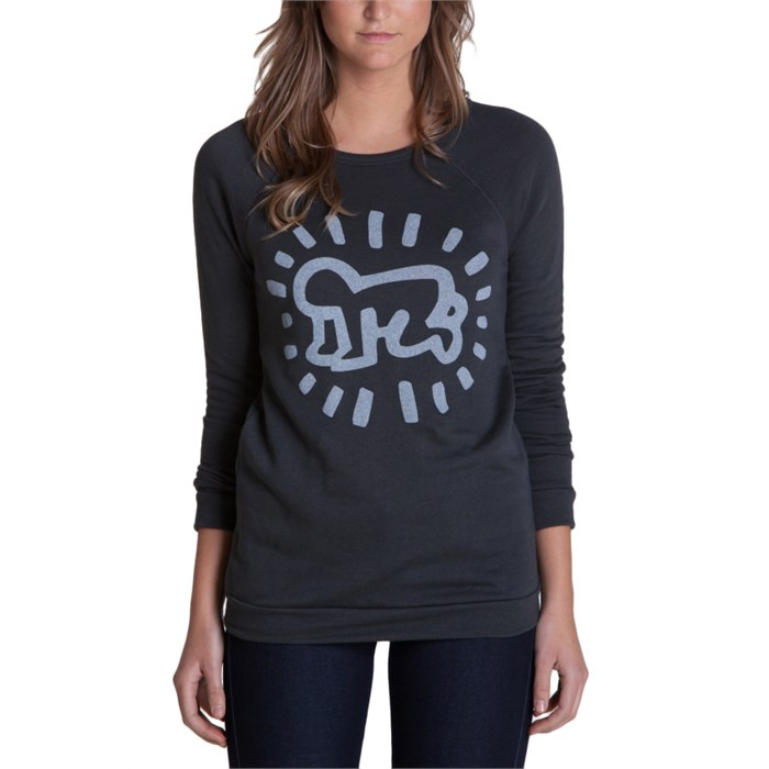 Obey Clothing - Keith Haring Baby Crew Sweatshirt - Women's