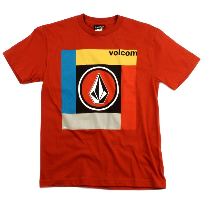 Volcom - Cover Shot T Shirt - Youth - Boy's