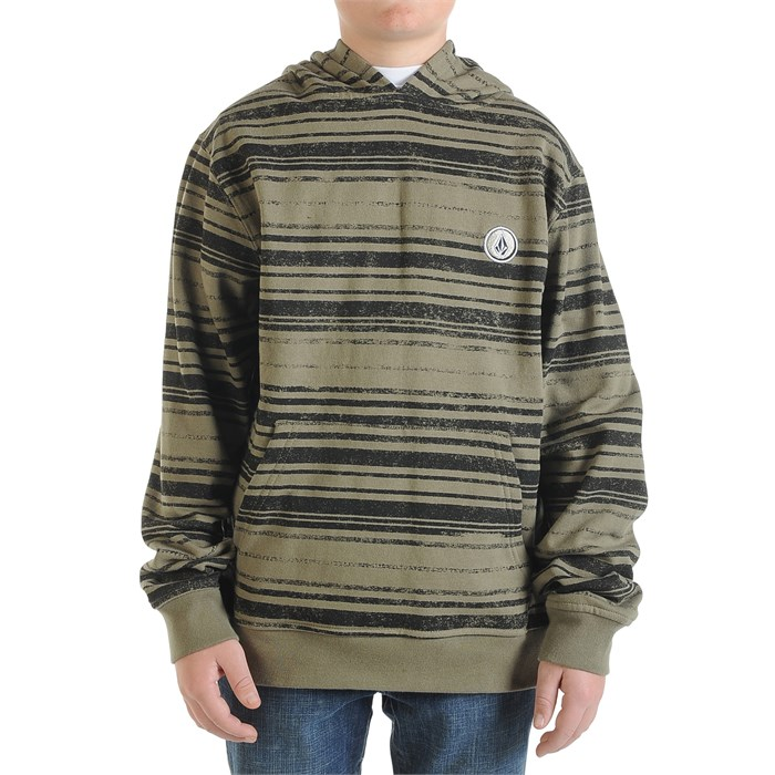 Volcom - EDS Pullover Hoodie (Ages 8-14) - Boy's
