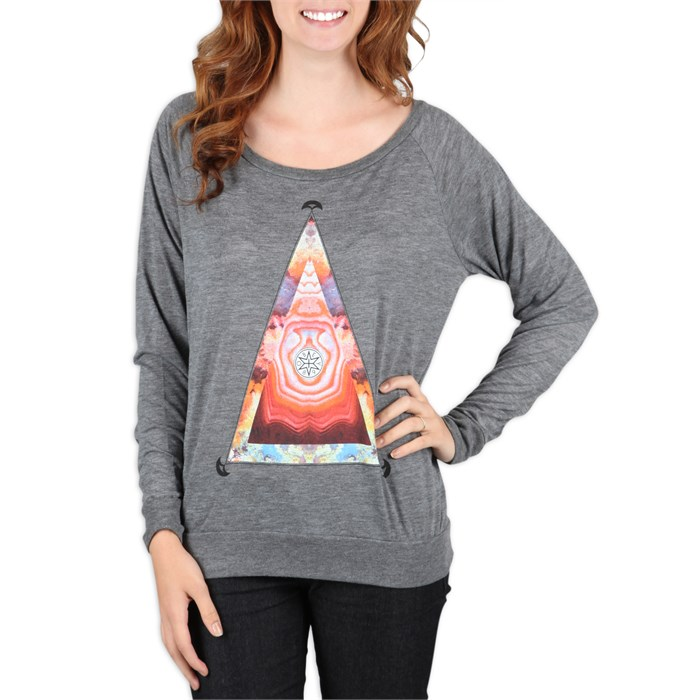 Obey Clothing - Pyramid Stone Crew Sweatshirt - Women's