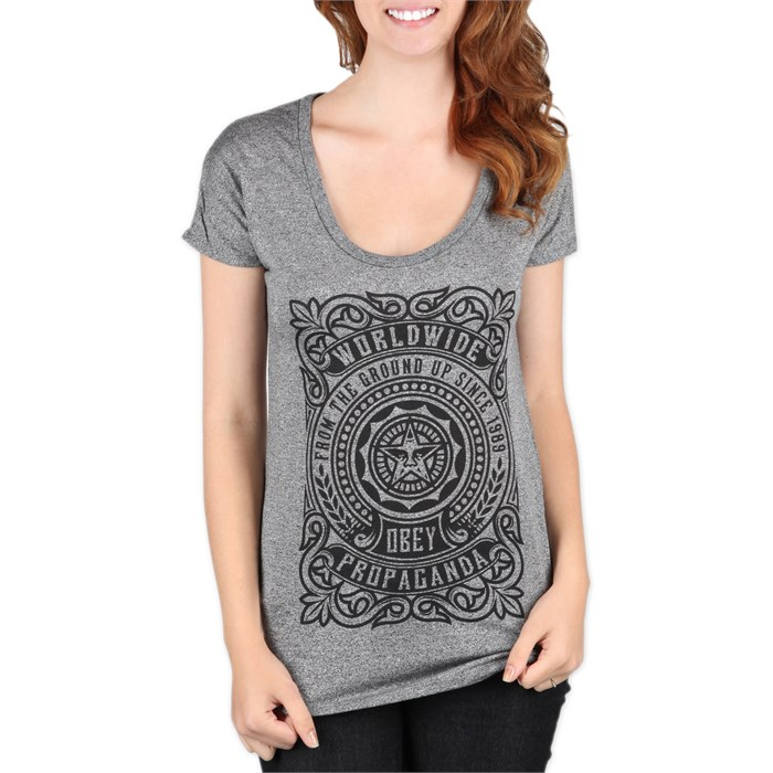 Obey Clothing - From The Ground Up T Shirt - Women's