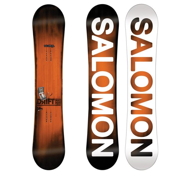 Salomon Drift Rocker 156 snowboard grey black red   WeAre