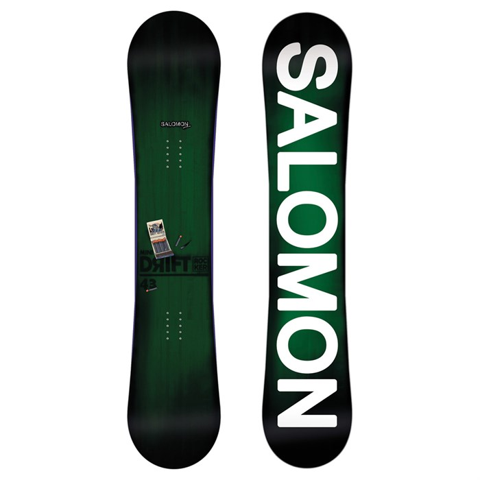 Salomon - Mini Drift Rocker Wide Snowboard - Youth - Boy's 2013