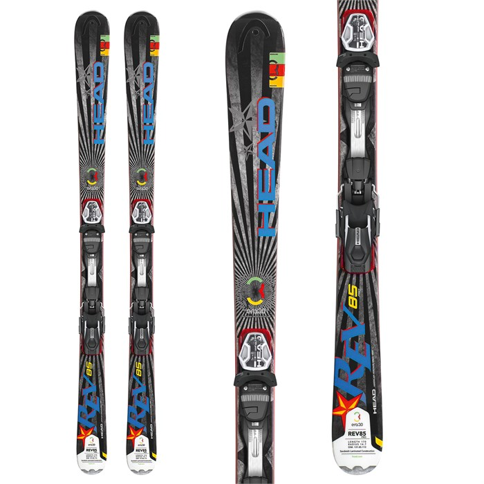Head - REV 85 Pro Skis + PRD 12 Wide 88 Bindings 2013