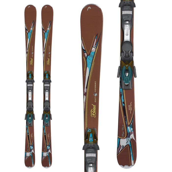 Head - MYA No. 6 Skis + MYA 10 PR Bindings 2013