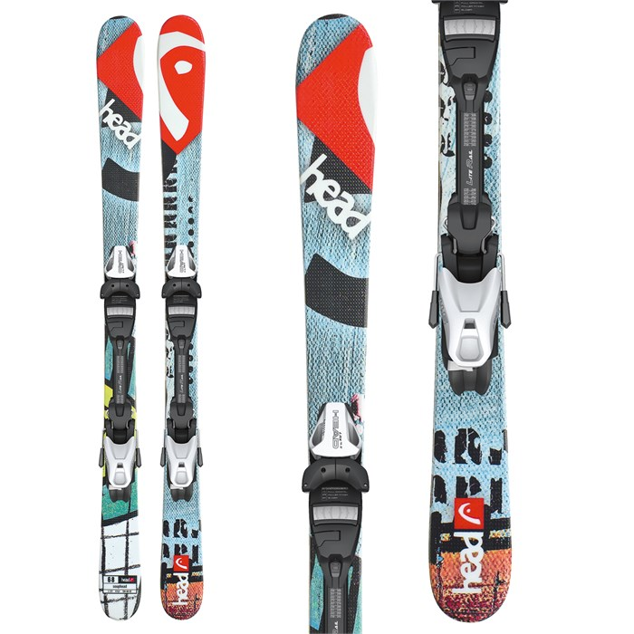 Head - Souphead LR Skis + LRX 7.5 AC Bindings - Youth 2013